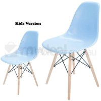 Kids Replica Eames DSW Dining Chair in Sky Blue