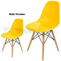 Kids Replica Eames DSW Dining Chair in Yellow