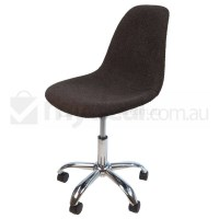 Eames Inspired DSW/DSR Office Chair in Charcoal