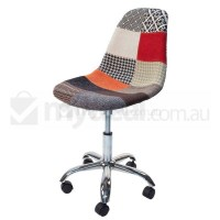 Eames Inspired DSW/DSR Office Chair in Patchwork