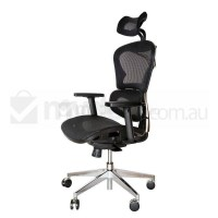 Replica Ergohuman Japanese Mesh Office Chair Black