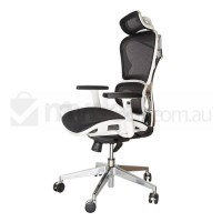 Replica Ergohuman Japanese Mesh Office Chair White