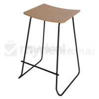 2x Replica Yvonne Potter Y Design Bar Stool - Black