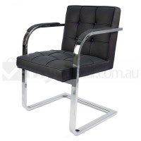 Replica Mies Van De Rohe Barcelona Chair in Black