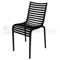 Replica Philippe Starck Pip-E Dining Chair in Black