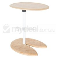 Replica Eileen Gray Adjustable Side Table - Natural