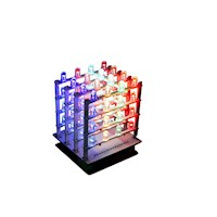 Arduino Matrix Display Cube Kit with 64 RGB LEDs