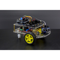 Arduino Uno DIY 2-Wheel Drive Ultrasonic Robot Kit