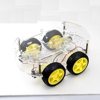 Arduino Robotics Project 4WD Motor Chassis Kit