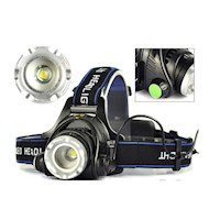 Rechargeable Cree XML T6 LED Head Torch Flashlight