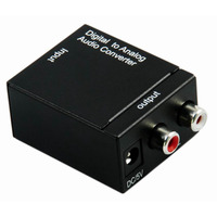 Digital Toslink/Coaxial to Analogue Audio Converter