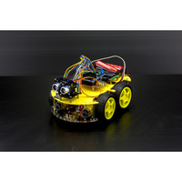 Arduino 4WD Bluetooth Robot Kit w Ultrasonic Sensor
