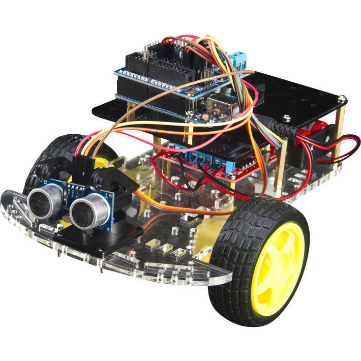 Arduino uno diy wheel drive ultrasonic robot kit buy