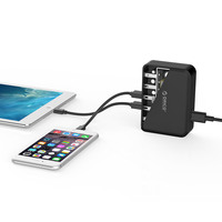 Orico 5 Port USB AC Wall Charging Adapter in Black