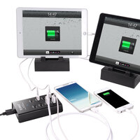 Orico 8 Port USB Charging Station w Power Supply 5V