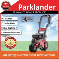 Parklander Heavy Duty Walk Behind Edger 163cc 1.3L
