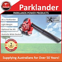 Parklander 2-Stroke Lawn Blower Chrome 26cc 500mL