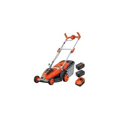 Redback Cordless Electric Lawn Mower w/ 2 Batteries