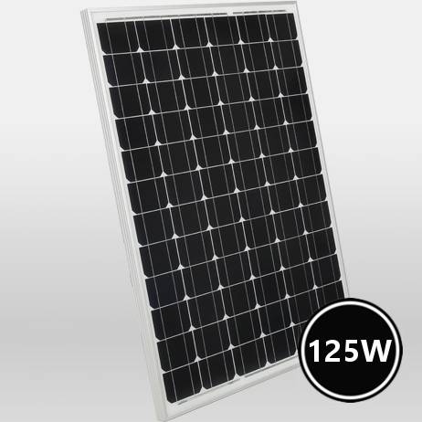 Monocrystalline solar panel hail resistant 125w 12v buy - Cost of solar panels for 3 bedroom house ...