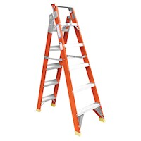 Fibreglass Dual Purpose Step Ladder 2.455 / 4.495m