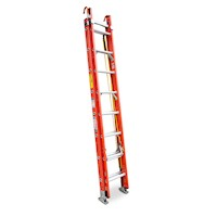 Fibreglass & Aluminium Extension Ladder 2.72-4.22m