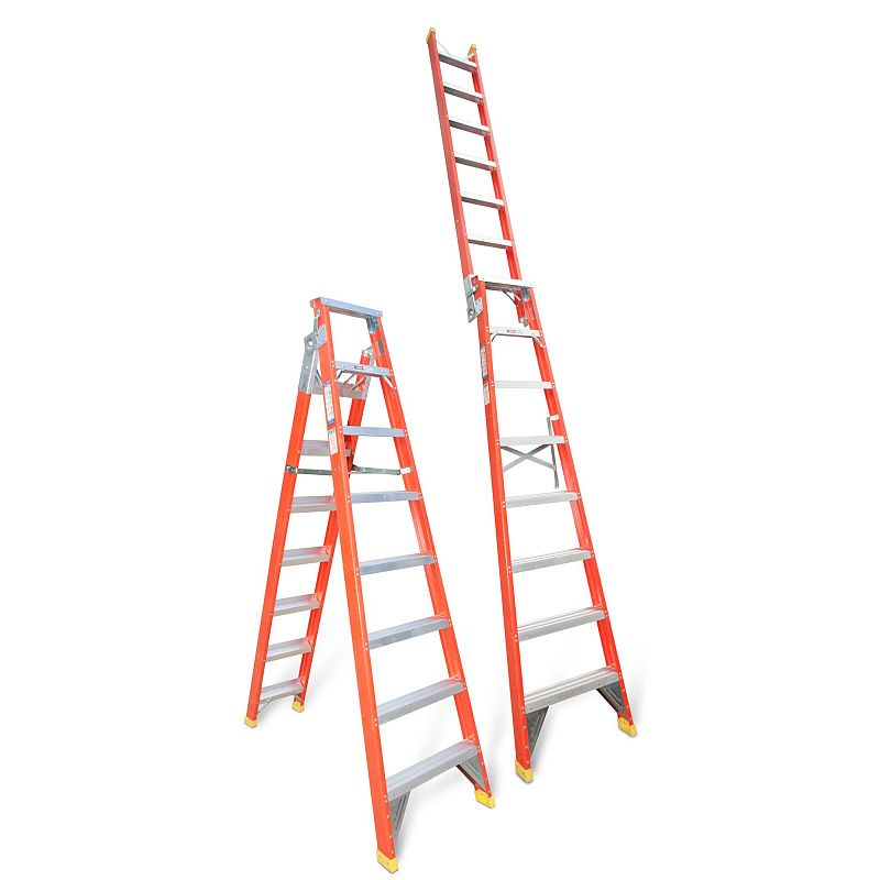 Fibreglass Dual Purpose Step Ladder 2 455 4 495m Buy