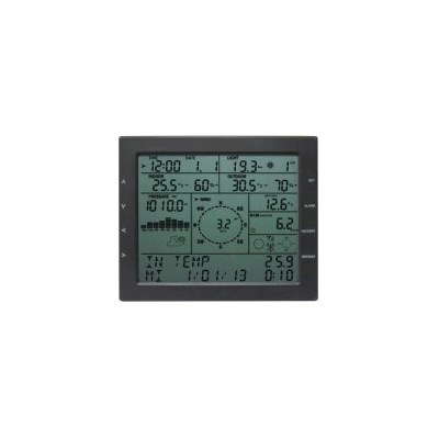 Wireless Solar Power Weather Station w/ PC Link 7""