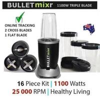 Bulletmixr Pro Bullet Food Extractor Blender 1100W