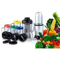 27pc Ezi Bullet Blender Kit w/ Juicer & Plunger