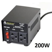Universal Step Down Transformer 240V to 110V - 200W