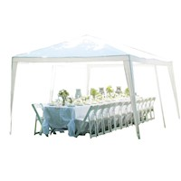 Outdoor Gazebo Party Tent Marquee in White 3x6m