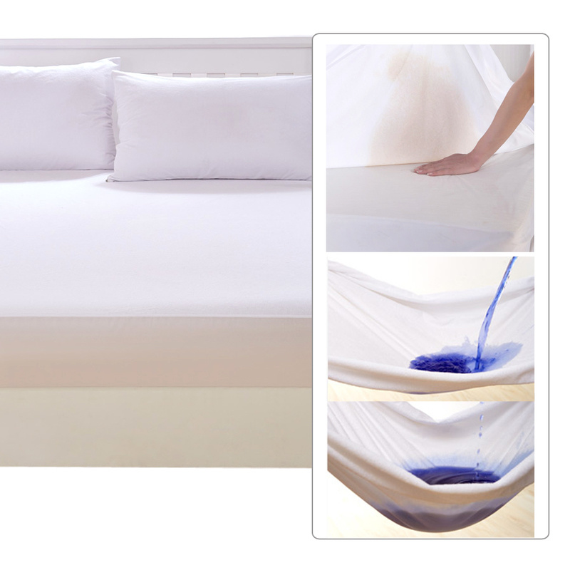 King Single Waterproof Non Woven Mattress Protector