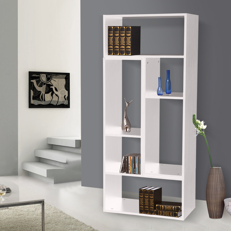 2pc Versatile L Shaped Display Case Unit In White Buy