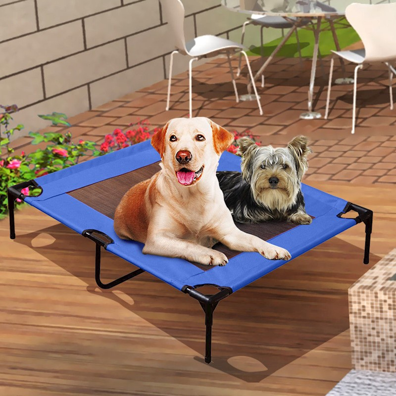Heavy Duty Pet Dog Bed Trampoline Hammock Canvas Cat Puppy Cover