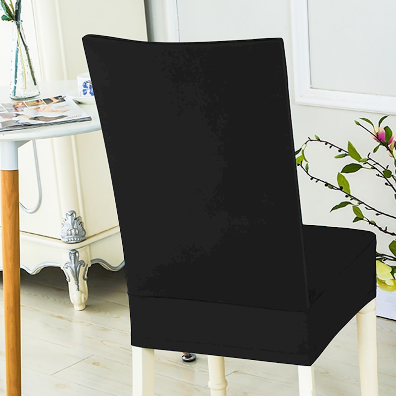 NEW Stretch Elastic Dining Room Wedding Banquet Chair Cover Washable Slipcover Black H M S Remaining
