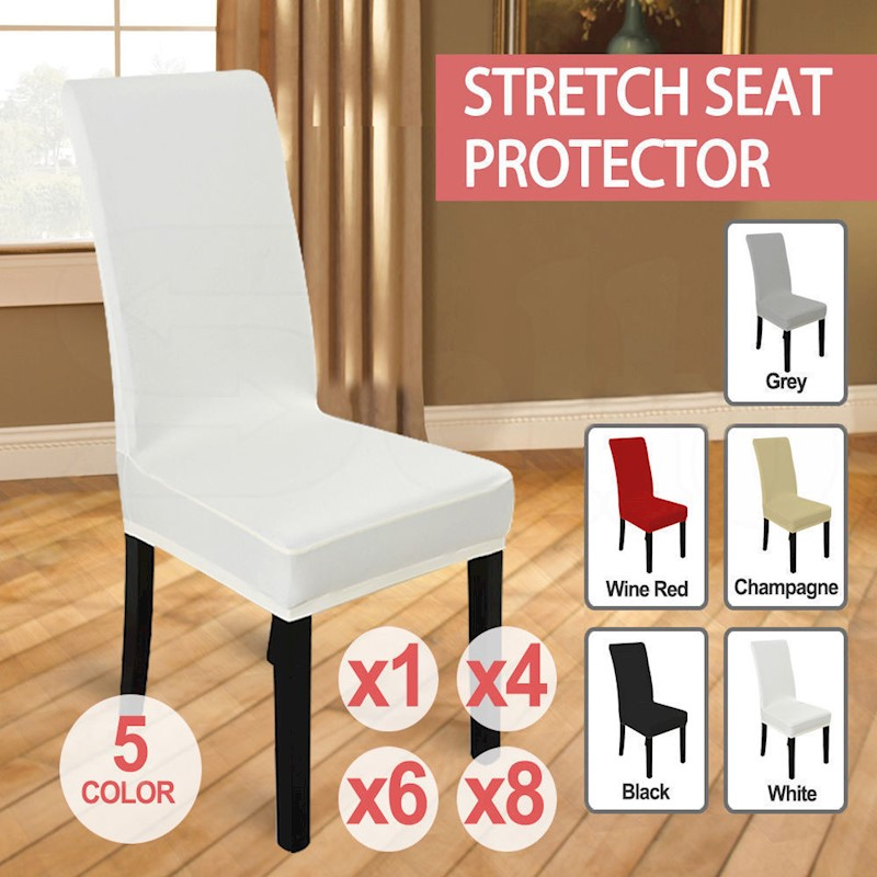 H M S Remaining NEW Stretch Elastic Dining Room Wedding Banquet Chair Cover Washable Slipcover