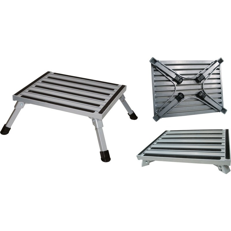 Portable Aluminium Folding Caravan Step Stool 180kg  sc 1 st  MyDeal & Portable Aluminium Folding Caravan Step Stool 180kg | Buy Top Sellers islam-shia.org
