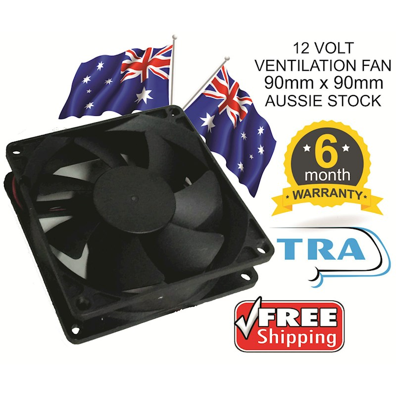 90mm 12 Volt Brushless Dc Cooling Ventilation Fan | Buy ...