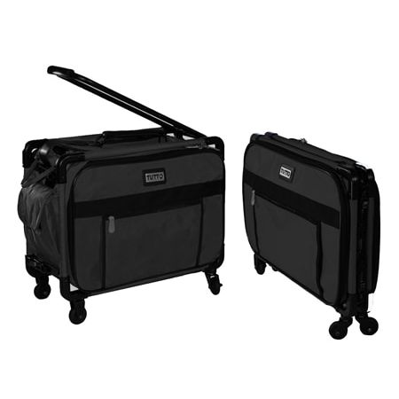 Tutto Medium Sewing Machine Trolley Bag In Black Buy Sewing