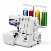 Elna 664 4 Thread Overlocker Sewing Machine 1300RPM