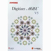 Janome Digitiser MBX Version 5 Embroidery Software