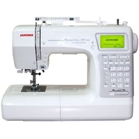 Janome Memory Craft 5200 Hard Cover Sewing Machine
