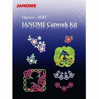 Janome Cutwork Digitizer V4 MBX CD/DVD Software