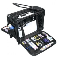 Tutto Medium Sewing Machine Trolley Bag in Black