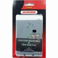 Janome Ultra Glide Needle Plate & Foot Set 9mm