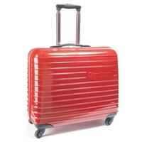 Omni-Glide Medium Plastic Machine Trolley Bag Red