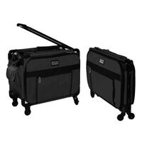 Tutto Large Sewing Machine Bag with Wheels in Black