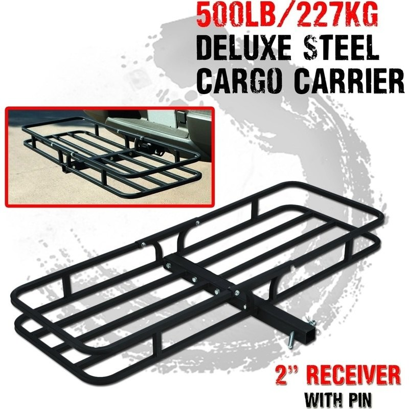 I Max Steel Tow Bar Cargo Carrier Rack 227kg Buy Tow