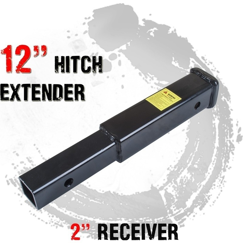 Tow Bar Hitch Extender 12in For 2in Reciever Buy Tow
