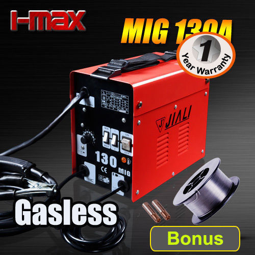 I Max Gasless MIG Portable Steel Welder 130 Amp